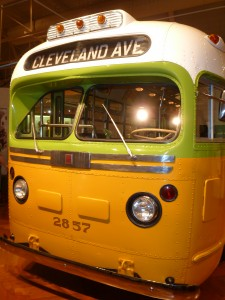 The bus where Rosa Parks made history